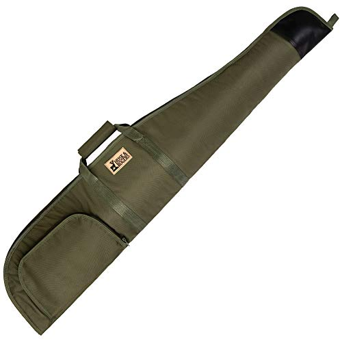 Husk & Rogers Camo, Green or Black Padded Soft Air Rifle Gun Carry Case...