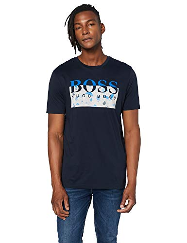 BOSS Herren Thady 1 T Shirt, Dark Blue (404), XL EU