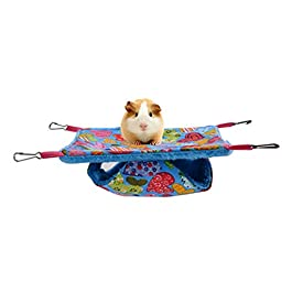 PPING Kitten Bed Hamster Hammock Rat Cage Accessories Rabbit Bed Hamster Hammock Rat Bed Ferret Hammocks Guinea Pig Hammock Rat Hammocks