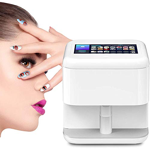 Multifunction Portable Nail Art Printers Machine Wifi Wireless Easy All-Intelligent 3D Nail Printers Over 800 Pictures, Best Gift