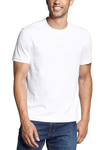 Eddie Bauer Legend Wash Pro Camiseta, Blanco (Weiß500), Large para Hombre