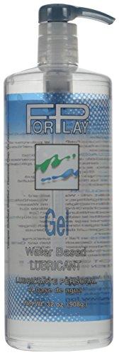 ForPlay Gel Water Base Lubricant Pump Bottle, 32 fl. oz.