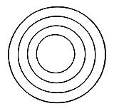 Rayher 2505101 Metallring, schwarz beschichtet, 15 cm ø, Stärke ca. 3 mm, Drahtring zum Basteln, für Wickeltechnik, Traumfänger Ring, Makramee Ring, Floristik - 2