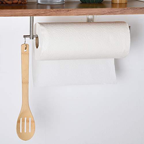 osolay Papierhandtuchhalter, Küchenrollenhalter Wandmontage, Selbstklebender Handtuchhalter aus Edelstahl für Bad, Küche, Toilette, Waschbecken und Hotel