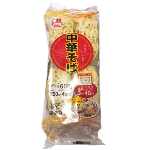 サンデリックフーズ 麺名人 中華そば(レンジ)4玉