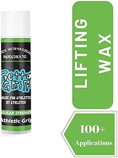 Getta Gripp Weight Lifting Chalk Wax - Liquid Chalk Lifting & Liquid Chalk Alternative - Best for Crossfit Grips & Free Weights Dumbbells Set - 1 Ounce