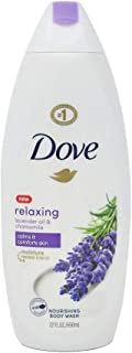 Dove Relaxing Body Wash, Lavender Oil and Chamomile, 22 Oz