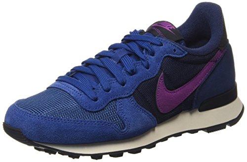 Nike Damen Internationalist Laufschuhe, Blau (Dark Royal Blue/Purple Dusk/Mid Navy/Blue), 38.5