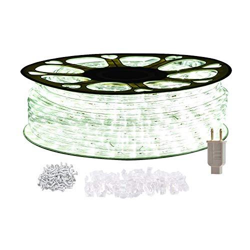 STARSHINE 120V LED Rope Lights,Connectable Waterproof LED String Lights Kit