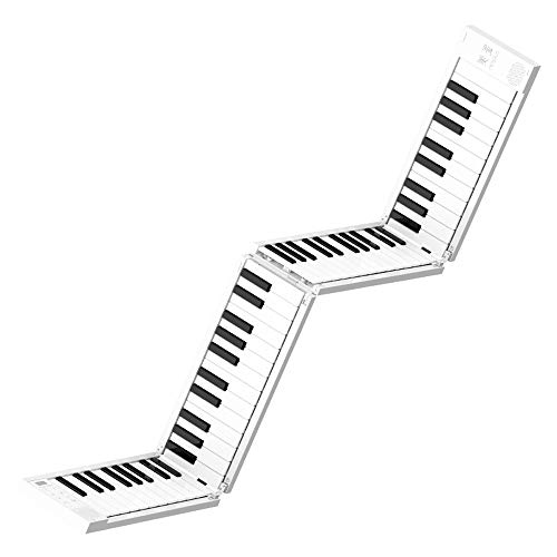 Amazing Deal JJCFM Hand Roll Piano, Multi Style Portable Hand-Rolled Piano 88 Folding Keyboard Profe...