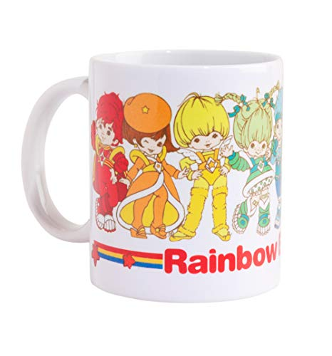 Rainbow Brite and the Colour Kids Mug for 80s Cartoon Fans