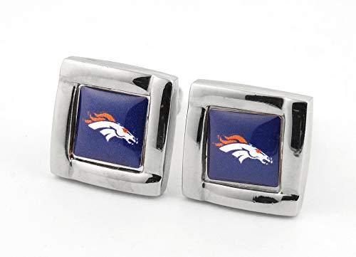 NFL Denver Broncos Square Cuff Links