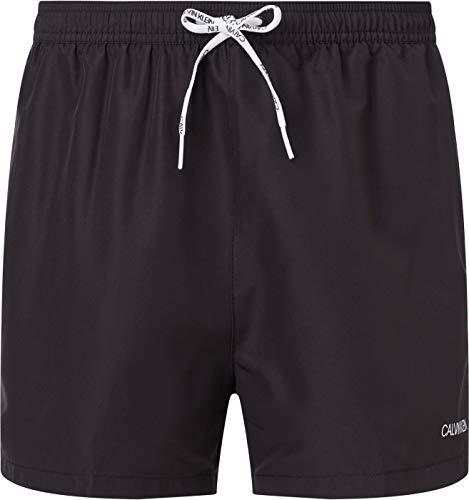 Calvin Klein Herren Short Runner-packable Badehose, Pvh Schwarz, M