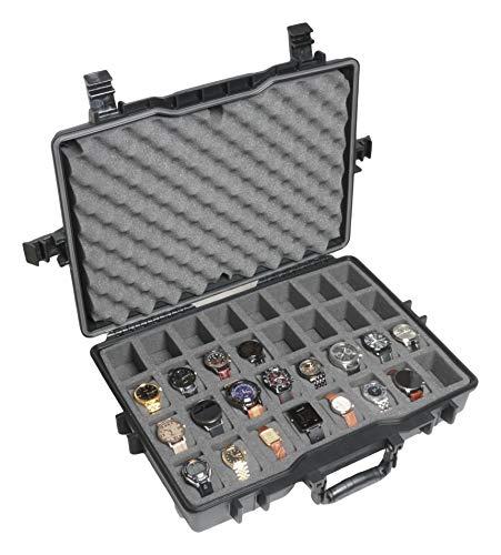 Case Club 32 Watch Pre-Cut Waterproof Travel Case (Gen 2)