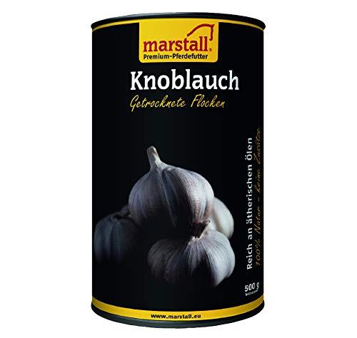 marstall Premium-Pferdefutter Knoblauch, 1er Pack (1 x 0.5 kilograms)
