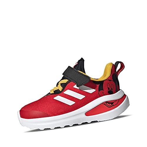 adidas Fortarun Mickey I, Zapatillas de Running, NEGBÁS/FTWBLA/Rojint, 21 EU