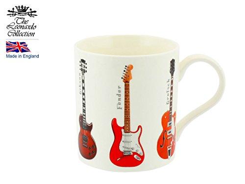 My Music Gifts Box Tasse & Untersetzer Gitarren