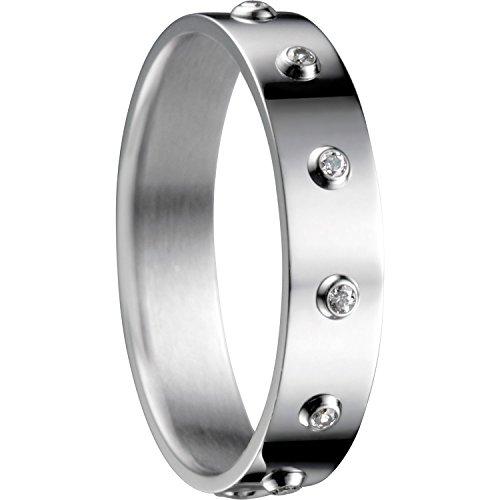Bering Damen-Ringe Edelstahl mit Ringgröße 62 (19.7) 555-17-82