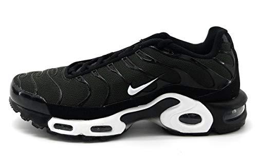 Nike Air Max Plus, Baskets Hommes, Black/Black/Sequoia/Sequoia, 45.5 EU
