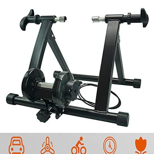 NNZZY Rullo per Bicicletta per Allenamento in Casa Rulli Bicicletta Pieghevole Bici Supporto Magnetico con Regolatore velocità