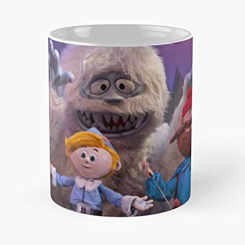 Snowman Yukon Prospector Cornelius Red Yeti Reindeer Abominable The Rudolph Santa Bumble Clause Nosed Mug holds hand made from White marble ceramic printed trendy design