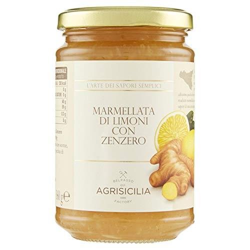 Agrisicilia Marmellata di Limoni con Zenzero - 360 g