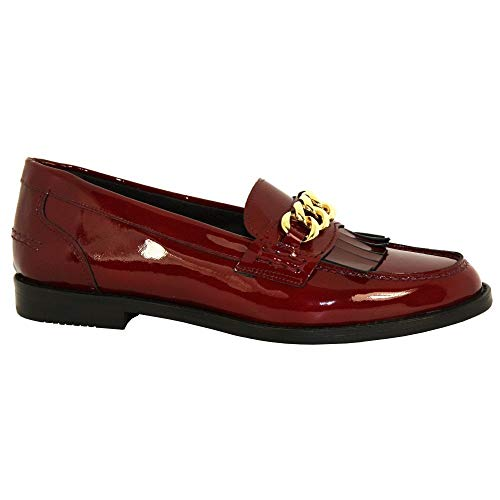 Luis Gonzalo Fringed Loafer 4634M 37 Red