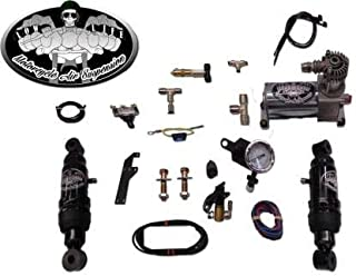 Harley Davidson Dyna Ez Rider Ultimate Air Ride Lowering Suspension Kit
