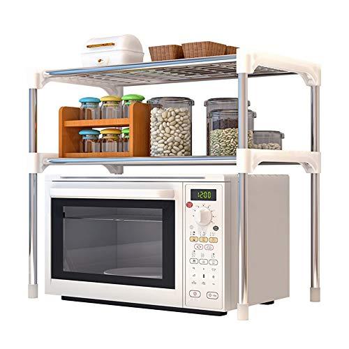Daytimes Haushalts Regale, Desktop-Speicher Multi-Layer-Regale, Edelstahl Verdickte Tragbare Speicherregale, Verwendet In Büros, Küchen, Bäder, Usw.