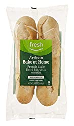 Fresh Brand – Artisan Bake at Home French Style Demi Baguette, 12 oz (2 ct)