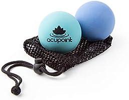 Acupoint fysiotherapie, massagebal, ideaal voor yoga, diepe weefselmassage, triggerpunt-therapie en zelfstandige...