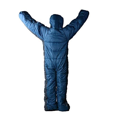 1000g sobre Saco de Dormir Cálido Ligero Portátil Impermeable Adultos y Niños Mochilas para Acampar Al Aire Libre, Senderismo, Viajar