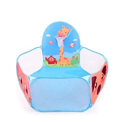 WZXX Faltbare Lustige Kinder Kinder-Spiel-Zelt Pit Pool-Spiel für Kinder Spielhaus Set Spielzeug-Baby-Geschenke für Kinder Lodge
