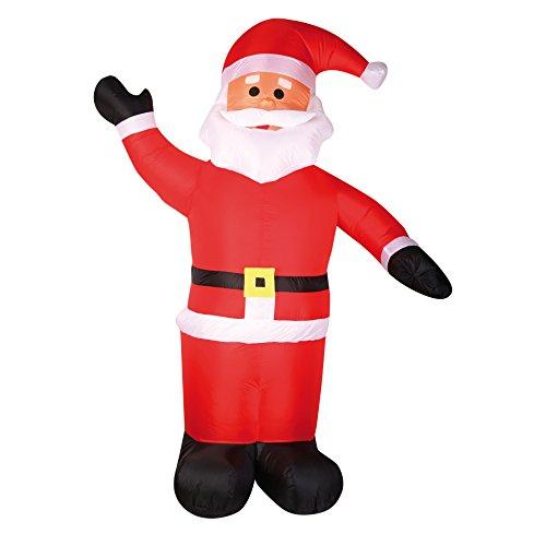 AUTOUR DE MINUIT Intorno di Mezzanotte 5aut105Babbo Natale Gonfiabile plastica