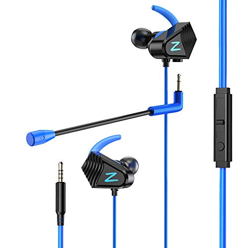 VersionTECH. Gaming Earphones with Dual Mic,Xbox Switch PS4 Earbuds with...