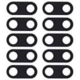 WANGZHEXIA Piezas de repuesto para Nokia 10 unids cámara trasera cubierta de lente para Nokia 3