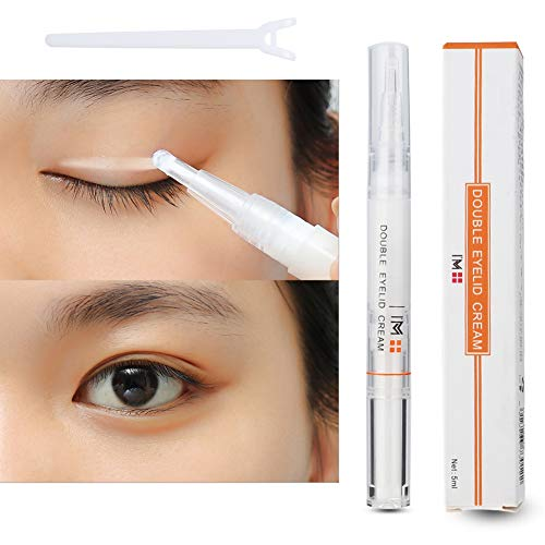5ml Double Eyelid Glue, Natural Waterproof Long Lasting Adhesive Glue Invisible Natural Double Eyelids Glue for Manufacture of Charming Eyes