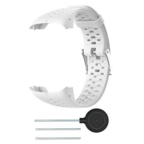 FOONEE - Correa de Silicona para Reloj Polar M400 M430,