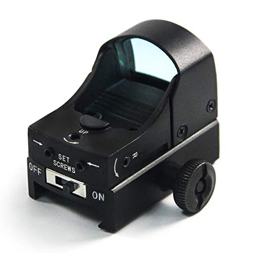 IVEN Red Dot Sight Reflexvisier Scope für Luftgewehr Gewehr mit 22mm/20mm Picatinny Schiene