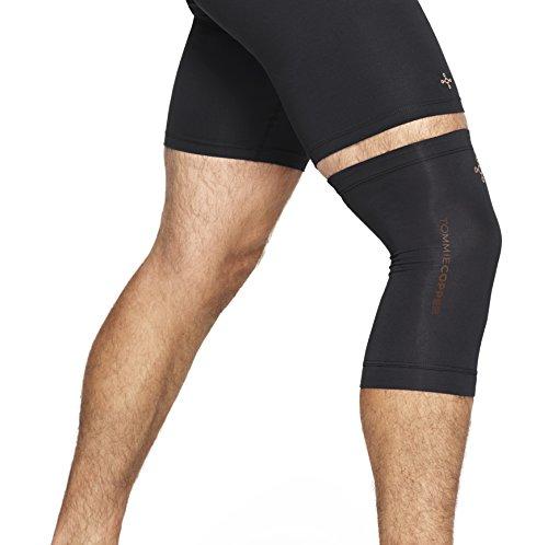 Tommie Copper - Unisex Core Compression Knee Sleeve - Black - X Large