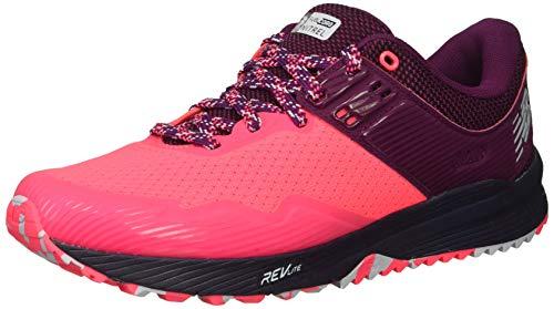 New Balance Nitrel v2, Zapatillas de Running para Asfalto para Mujer, Rosa (Pink Zing/Claret/Pigment Lp2), 37.5 EU