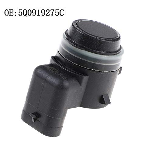 Fait Adolph Radar de Marcha atrás PDC Sensor de Aparcamiento for 15-16 Audi A3 S3 RS3 TT Quattro V W Golf Skoda 5Q0919275A 5Q0919275C Sensor de Radar de Marcha atrás (Color : Black)