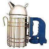 Mumusuki Bee Hive Smoker USB Ricaricabile in Acciaio Inox Elettrico Alveare Fumatore Attre...