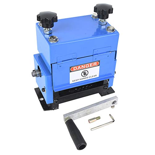 Oumefar Hand Crank Manual Wire Stripping Machine 1.5-20mm Scrap Wire Stripper Copper Cable Peeler for Wire Stripping