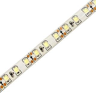 【1本入り】 高密度(120LED/m) 12V 防水 LED テープライト 1チップ 50cm (白ベース) 発光色:白色