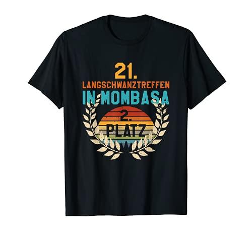 Herren Langschwanztreffen In Mombasa 2. Platz Junggesellenabschied T-Shirt