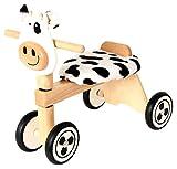 Rutscher Kuh schwarz/weiß