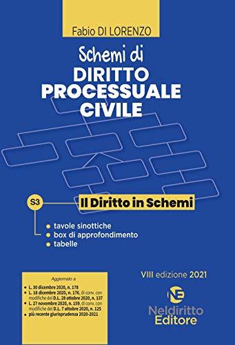 Schemi di diritto processuale civile. Nuova ediz.