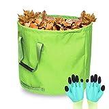 Bolsas reutilizables para residuos de jardín, 125 litros