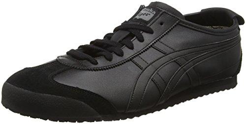 ASICS Mexico 66, Sneaker Unisex-Adulto, Nero Black 9090, 46.5 EU